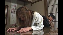 Japanese schoolgirl bizarre spanking and threesome Subtitled preview image