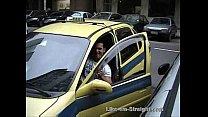 Americando sucking on straight taxi driver's cock – Brazilian