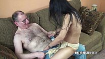 Petite Indian MILF Naomi Shah is swallowing some cock