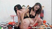 Jayden Jaymes and Kristina's Pumpkin Fun thumbnail