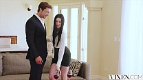 VIXEN Hot Young Curator Fucks Art Collector