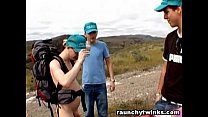 Lost Guys Found A Nudist Traveller