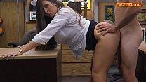 Big butt amateur railed at the pawnshop thumbnail