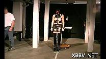 Hot babes are into bondage