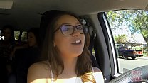 GIRLS GONE WILD - In A Cab Game Show With Three Young Babes صورة