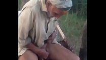 Old guy masturbations