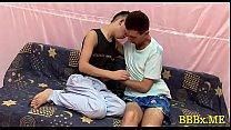 Lewd gays in bareback act