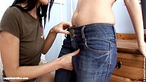 Pleasuring Teens by Sapphic Erotica - sensual lesbian sex scene with Angellina a