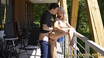 Dane Jones Young blonde wife Zazie Skymm footrub suck and fuck