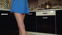 12786 Young teen without panties got caught on spy cam preview