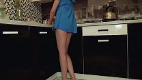 16616 Young teen without panties got caught on spy cam preview