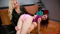 Home Wrecking Teen Daughter Gets Punished (Mode...