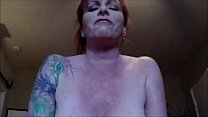 Redhead Milf With Big Tits Riding Cock