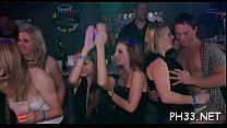 Lots of gang bang on dance floor thumbnail