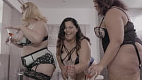 Rare BBW Orgy With 3 Oversized Cuties And A Hung Gentleman - Karla Lane, Mazzaratie Monica, Cayenne Amor Preview