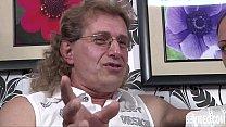 (Fundorado) ⁃ German Whore Take Two Dicks: pantysolo thumbnail