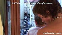 Horny Bareback Exhibitionist Twinks Rimming