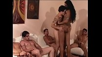 Cock Sucking Tranny Fucked By A Group Of Guys A