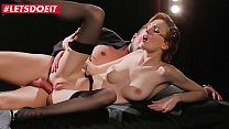 LETSDOEIT - Sexy Cabaret Teen Belle Claire Tease And Takes Deep Anal From Passionate Lover