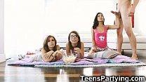 Stepbro Fucks 3  Hot Teenage Besties  sties