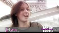 exhibition a Paris, baise trio sur la Seine bateau mouche
