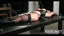 Complete amateur s&m action along large boobs woman
