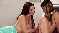 Mom sniffing the panties of a young girl! - Mindi Mink, Uma Jolie preview image