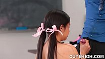 Audrey Noir and Rose Darling Give Head and Stuffed