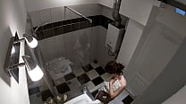 HIDDEN CAM - Spying my sister in the shower
