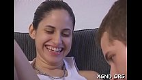 14369 Tasty teen Bianca getting hard fucked preview