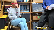 Officer puts a leash on Arie as he subdues her ...