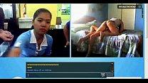 Indonesen girl on webcam