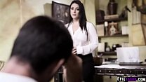 Daughter fucks her DAD! Best family roleplay ever shot! Starring Karlee Grey, Angela White and Charles Dera! image