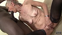 Granny the network mom gets anal