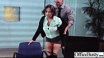 Sex Tape In Office With Slut Big Juggs Horny Girl (krissy lynn) video-17