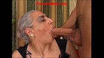 granny hot big cock italian - granny fucks hard young cock