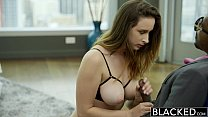 17286 BLACKED Busty brunette Ashley Adams first BBC preview