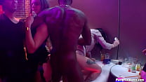 Amateur whore Elle goes wild & lets 5 strippers pound on her cunt (including 2 barebacks) in PHGC 39 - Cam 4