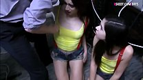 Very tight brunette teen hackers fucked by poli...