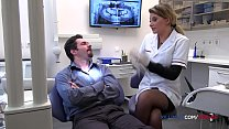 Dentist Anna Polina anal sex with her patient image