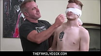 Skinny Twink Boy Step Son Josh Cannon Family Fucked By Hunk Step Dad