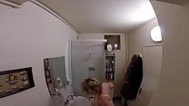 A pretty blonde BBW gets fucked her big ass