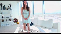 HD CastingCouch-X - Beautiful Molly Jane with natural tits auditioning for sex