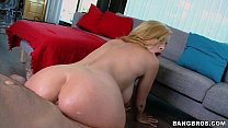 Blonde MILF gets nasty in the Kitchen