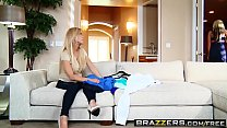 Brazzers - Mommy Got Boobs - Meddling Mother-In-Law scene starring Amber Lynn and Bradley Remington pornhub video