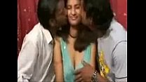Indian   Desi  Pregnat  Babe With  Two Gys