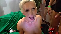 Sexy Blonde babe loves cum from big cocks - German Goo Girls Preview