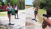 BANGBROS - y. Harley Jade Goes For A Jog & Someone Follows Her