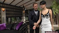 Busty secretary analed by Rocco Siffredi