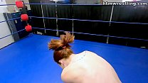 Redhead Woman Stripped and Defeated Boxing Ryona Vorschaubild